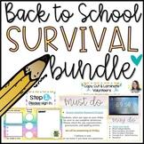 Back to School Survival Kit   BTS Bundle