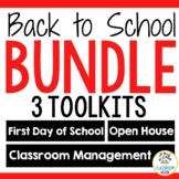 Back to School Survival Kit: First Day, Open House, Classroom Management: BUNDLE