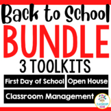 Back to School Survival Kit: First Day, Open House, Classr