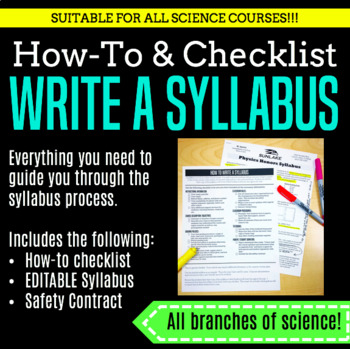 Back to School Survival Kit--SCIENCE