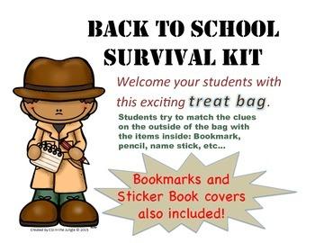 Back to School Survival Kit / Treat Bag