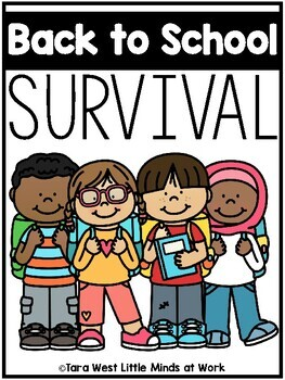 Back to School Survival (Preschool, TK, Sped, Kindergarten)