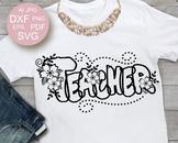 Back to School Svg Teacher svg Teacher shirt design svg fi