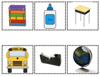 Back to School Syllable Sort