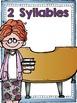 Back to School Syllable Sort Freebee by Kim Adsit