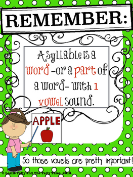 Back-to-School Syllables: Differentiated Phonological Awareness Activities