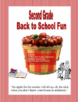 Back to School Fun Activity Collection Grade 2