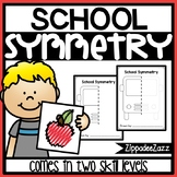 Back to School Symmetry Drawing Activity for Art and Math