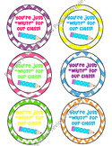 Back to School Tags,Treat tags,You're just write for our class,pencil tags