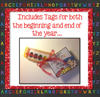 Back to School and End of Year Tags for Students or Teacher Gifts ~ Includes K-5
