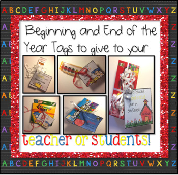 Back to School Tags for Student or Teacher Presents ~ Incl