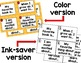 Back to School Write the Room Task Cards