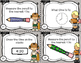 Back to School Task Cards for Third Graders