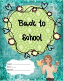 Back to School Teacher Binder
