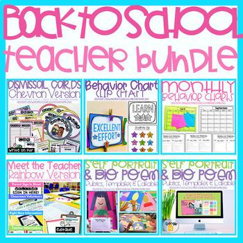 Back to School Teacher Bundle
