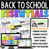 The Ultimate Back to School Teacher BUNDLE for Distance Learning