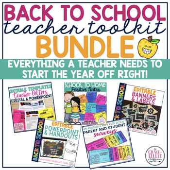 Back to School: Teacher Communication Toolkit BUNDLE