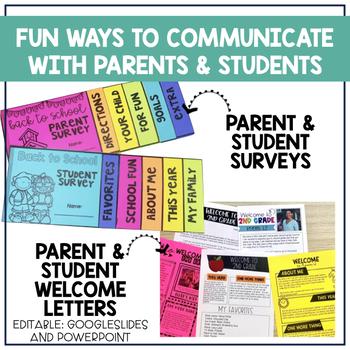 Back to School: Teacher Communication Toolkit BUNDLE