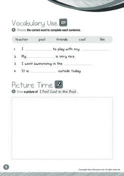 Back to School - Teacher, Friends, Like (I): Word Family OOL - K3 (age 5)