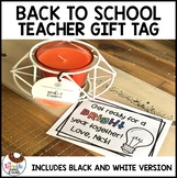 Back to School Teacher Gift Candle
