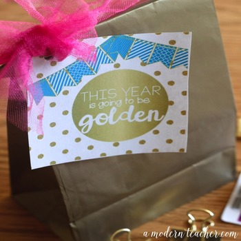 Back to School Teacher Gift Tag