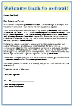 teacher introduction letter back to school introduction letter by the 11712 | original 780353 2