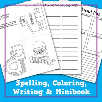 Back to School Teacher Packet