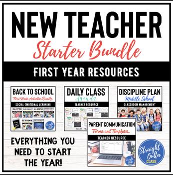 Back to School Teacher Starter Resources