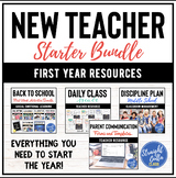 Back to School Teacher Starter Resources for Middle School