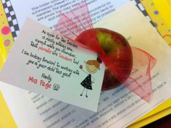 Back to School Teacher Tag Freebie