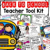 Back to School Games and Activities: First Day of School FUN!