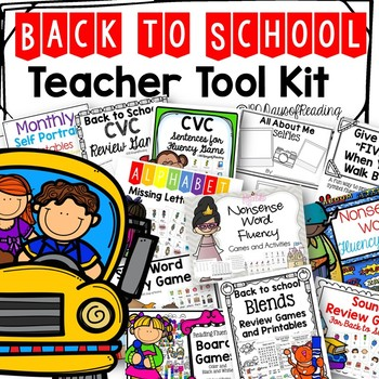 Phonics Games and Activities for Back to School