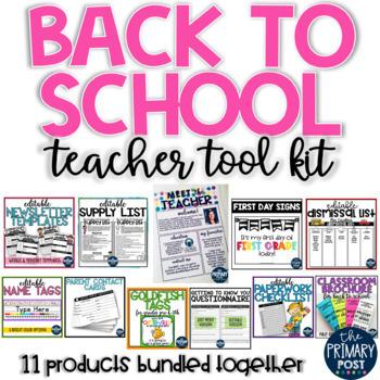 GROWING Back to School Teacher Toolkit BUNDLE