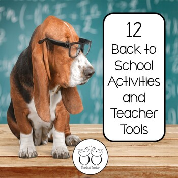 Back to School Teacher Tools and Activities