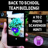 Back to School Team Building Activity- A to Z Photo Scavenger Hunt!