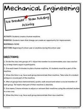 Back to School Ice Breakers Team Building Activities