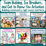 Back to School Team Building, Ice Breakers, and Get to Kno