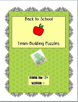 Back to School Team Building Puzzles
