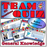 End of Year/Back to School Team Building Quiz for Middle School