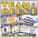 Back to School/End of Year Team Building Quiz for Middle School
