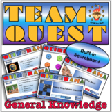 End of year/Back to School Team Quest - Middle School Team