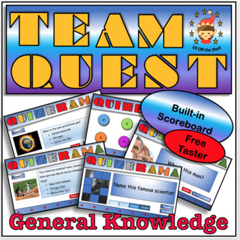 Back to School Team Quest Taster - Team Building Activity for Middle School