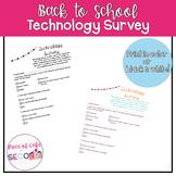 Back to School Technology Survey