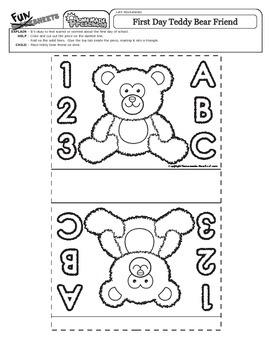 Back to School - Teddy Bear Friend