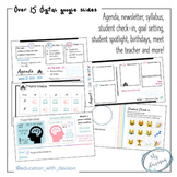 Back to School Templates