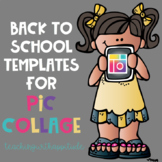 Back to School Templates for Pic Collage-Getting to Know Y
