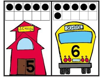 Back to School Ten Frame