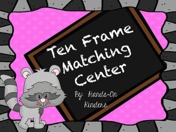 Kissing Hand Ten Frame Center