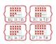 Back to School Ten Frame Clip Cards 1-20