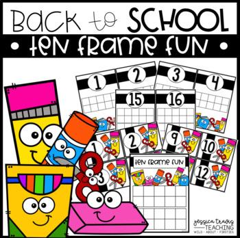 Back to School - Ten Frame FUN!